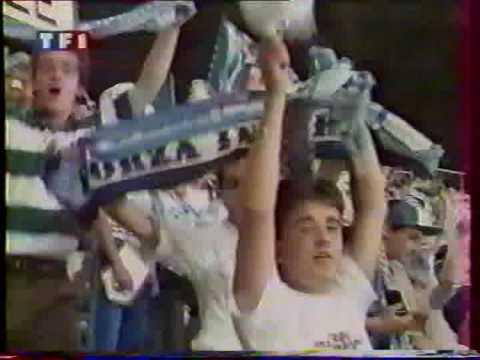 Supporters de l'om au stade vélodrome 96 97 98 99 ultras marseille partie 1 (видео)