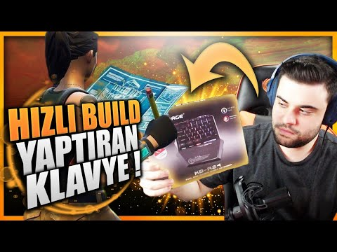 HIZLI BUİLD YAPTIRAN KLAVYE ! FORTNITE BATTLE ROYALE