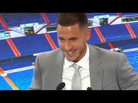 Presentación de Hazard como nuevo jugador del  Real Madrid: