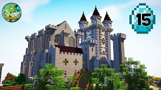 Transform a Minecraft Village into a Town E15 - Castle