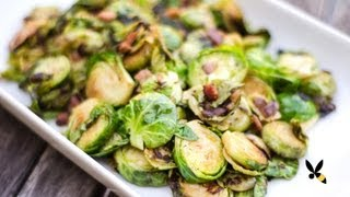 How about something healthy but super savory and delicious?? Roasted Pan Fried Brussel Sprouts it is! SUBSCRIBE: http://goo.gl/iA05G FACEBOOK: ...