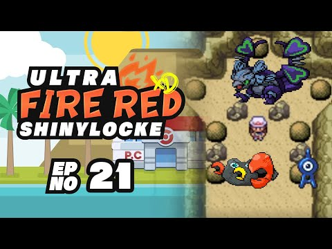 "Pokémon Ultra FireRed XD ShinyLocke - Episode #21 ""SHARPINO & THE CHAMBER OF SHINIES"""