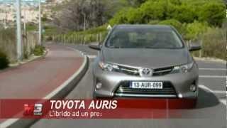 TOYOTA AURIS HYBRID 2013 - TEST DRIVE