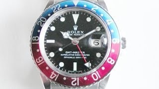 Nonton Vintage 1970 S Rolex Gmt Master Watch With Pepsi Color Bezel Film Subtitle Indonesia Streaming Movie Download