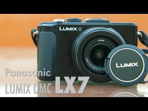 Panasonic Lumix DMC LX7 - Video Review