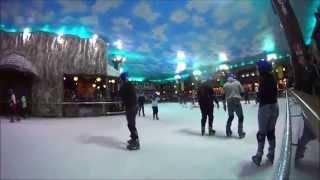 Parque de neve snowland em Gramado