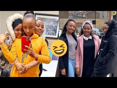 Kalli Yadda Fati Washa, Rahama sadau da Hadiza Gabon suke Zuba Kauyanci A Kasar London 🤣🤣