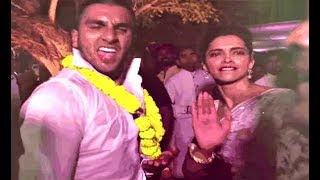 Deepika Padukone And Ranveer Singh Cute Dance At Friends Wedding