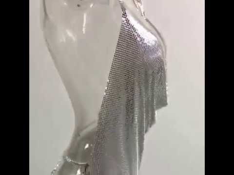 Metal Kendall dress - Commoda Clothing