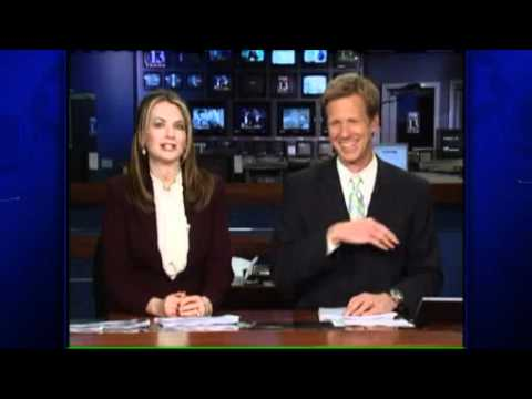 News anchor inhales fly on live TV