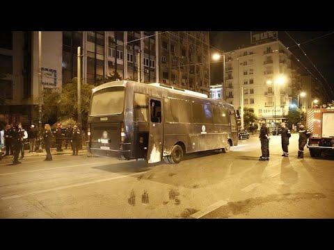 Video - Α.Τ. Ομόνοιας: Φωτογραφίες των τραυματιών αστυνομικών