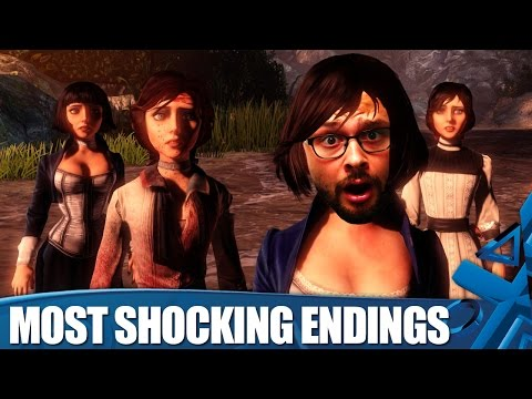 videogame - Rob presents his list of shocking videogame endings, featuring The Walking Dead, Portal 2, Enslaved, Assassin's Creed: Brotherhood, Castlevania: Lords of Shadow, Metal Gear Solid 4, BioShock...