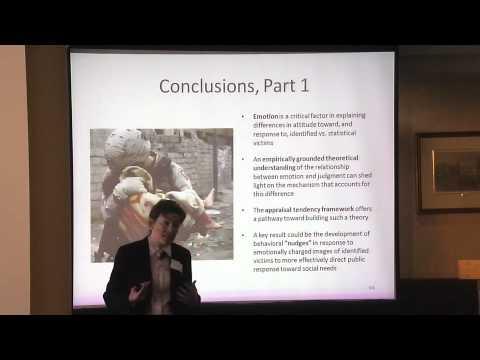 Session II: Erklärung der identifizierten Opfer Bias