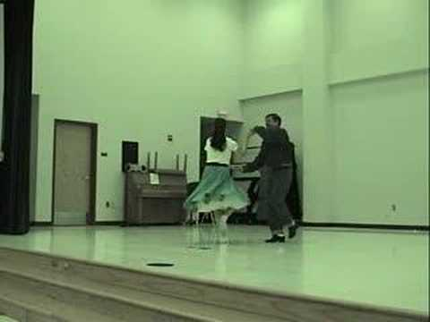 Jitterbug - Dance performance in Round Rock, Texas by the American Academy of Music and Dance.