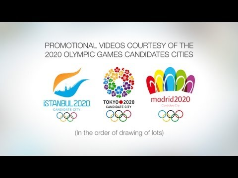 promotional - Videos courtesy of the 2020 Olympic Games Candidate Cities. Cities listed in the order of drawing of lots: Istanbul, Tokyo, Madrid. Subscribe to the Olympic ...