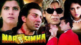 Narsimha Full Movie in HD | Sunny Deol Hindi Action Movie | Dimple Kapadia | Urmila Matondkar