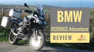 1. 2017 BMW R1200 GS Adventure Review - The Best GSA Yet!