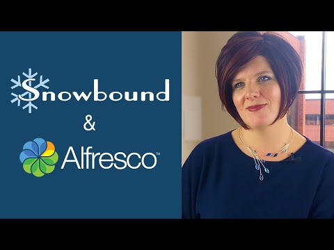 Snowbound & Alfresco Expand Partnership To Seamlessly Deliver Users a Complete Solution