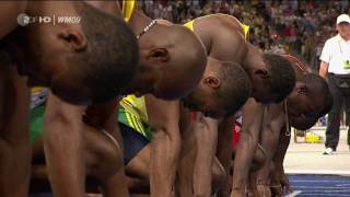 Video 100m Sprint Men Finals Usain Bolt  {Berlin 2009 } [HD] MP3, 3GP, MP4, WEBM, AVI, FLV November 2018