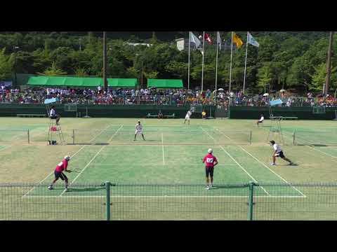 2017 全国中学校ソフトテニス大会 男子個人戦決勝