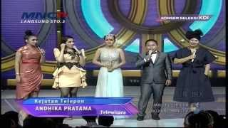 Video Andika Pratama Ngerjain Ussy Sulystiawati - Konser Seleksi KDI 2015 (29/3) MP3, 3GP, MP4, WEBM, AVI, FLV April 2019