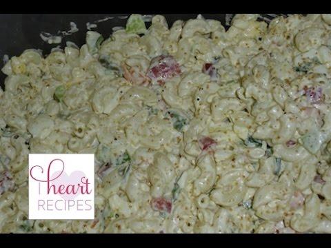 How to make a Classic Macaroni Salad – I Heart Recipes