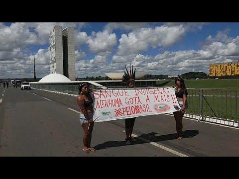 Βραζιλία: Διαμαρτυρία ιθαγενών κατά του προέδρου