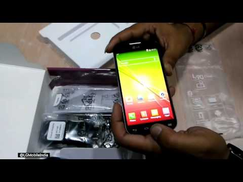 LG L90 Unboxing Video [D410]