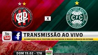 INSCREVA-SE NO CANAL: http://bit.ly/2kBE2GF O Clube Atlético Paranaense e o Coritiba entram em campo para disputar o...