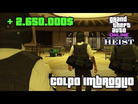 2.680.000$ - Colpo al Casinò Imbroglio Difficile - GTA ONLINE ITA