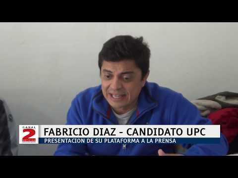 RUMBO A LAS ELECCIONES A INTENDENTE: FABRICIO DIAZ Y SUS PROPUESTAS DE GOBIERNO
