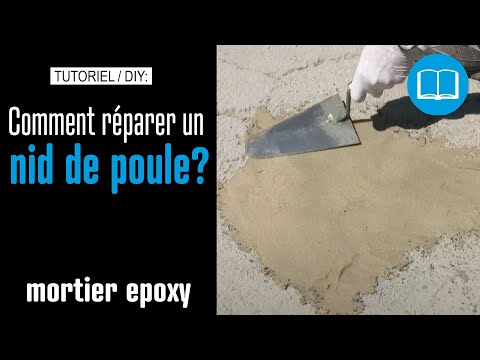 comment reparer surface beton