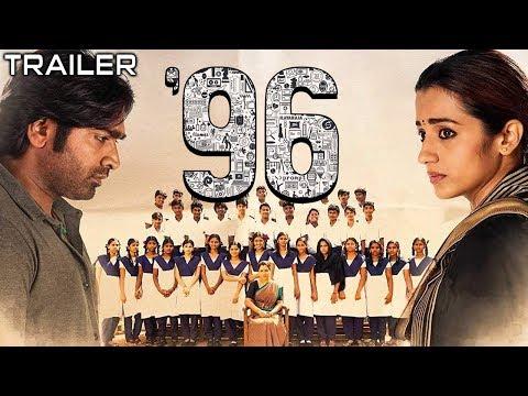 96 (2019) Official Hindi Dubbed Trailer 2 | Vijay Sethupathi, Trisha Krishnan