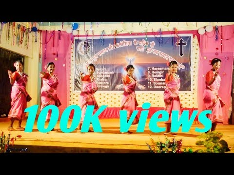 Sadri mix songs || gaibira parish youth || Sundargarh deanery youth convention Sikajore 2017