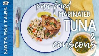 Marinated TUNA & Couscous | Bart van Olphen by Bart's Fish Tales