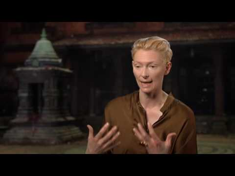 "Tilda Swinton ""The Ancient One"" Movie Interview For Doctor Strange"