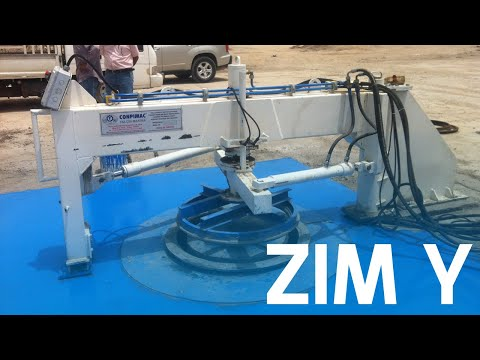 ZİM Y 1200 CONCRETE PIPE MAKING MACHINE