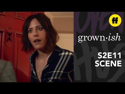 grown-ish Season 2, Episode 11 | Nomi Thanks Professor Hewson | Freeform