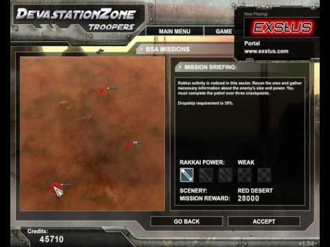 Devastation Zone Troopers Gameplay part 1