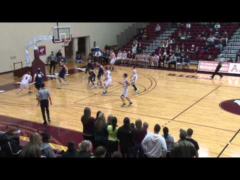 Alma College Men's Basketball vs. Trine University - February 1, 2012