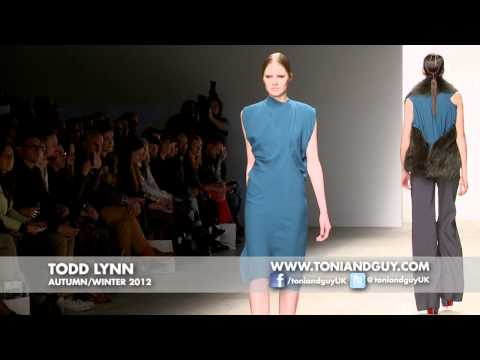 TONI&GUY @ Todd Lynn AW12 - London Fashion Week