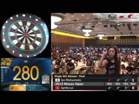 2013 Macau Open – Single 501 – Women – Final