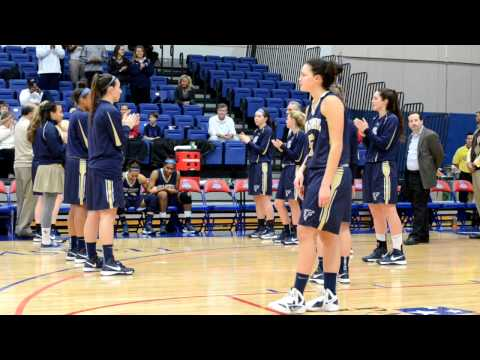 Girls Basketball WCAC Championship Good Cousel vs. St Johns 2/26/2013 video