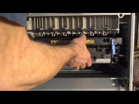 How To Replace Fuser And Rollers For HP LaserJet 5si 8000 8100 8150 Printers