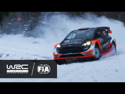 wrc rally sweden 2017 – highlights day 1\shakedown