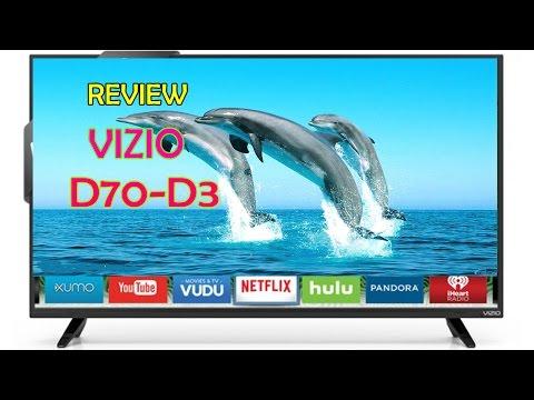 ♫► VIZIO D70-D3 D-Series 70-inch Class Full Array LED Smart TV Review ◄♫