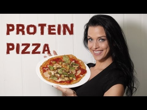 Low Carb / High Protein Healthy Pizza Recipe for Bodybuilding and Weightloss.
