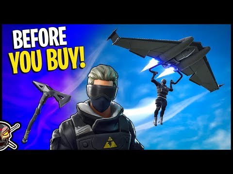 NEW Verge Outfit | Clean Cut Axe and Diverge Glider - Before You Buy - Fortnite
