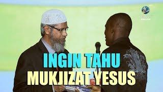 Video Bertanya Tentang Mukjizat Yesus, Malah Masuk Islam | Dr. Zakir Naik MP3, 3GP, MP4, WEBM, AVI, FLV Maret 2019