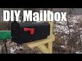 New DIY Mailbox Post and Happy Thanksgiving to All!